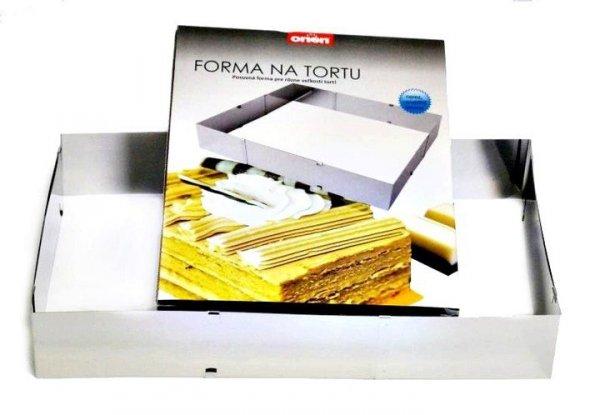 FORMA OPASKA OBRĘCZ DO CIAST ROZSUWANA 24-46cm