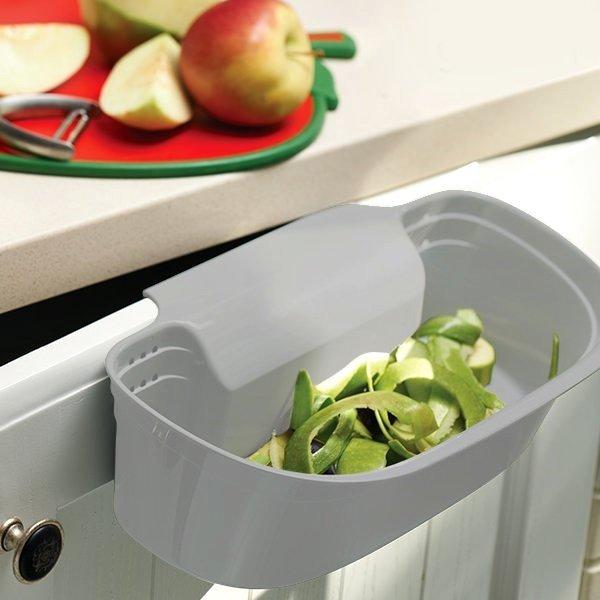 Pojemnik Na Obierki Kosz Mocowany Na Drzwi Szafki Kuchnia Gotowanie