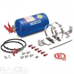 System gasniczy Sparco stalowy, mechaniczny 4L