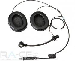 Sluchawki OMP TECH-RACE z mikrofonem do kasku otwartego