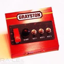 Panel 4 włączników Grayston