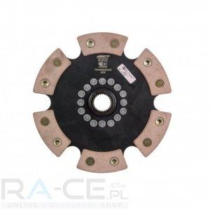 Tarcza sprzęgła ceramiczna ACT 6 PAD Honda Civic EP3/FN2 K20A