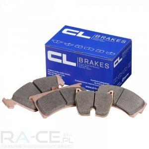 Klocki hamulcowe CL Brakes, RC8, Renault Clio II Sport, oś przednia