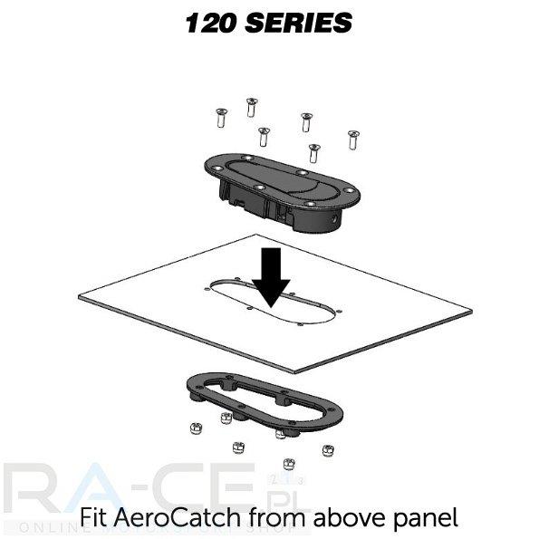 Zapinki AeroCatch 120-2000