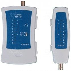Tester kabli sieci LAN RJ45/BNC
