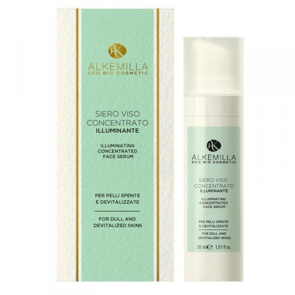Rozświetlające serum do twarzy dla skóry matowej i dojrzałej - Alkemilla