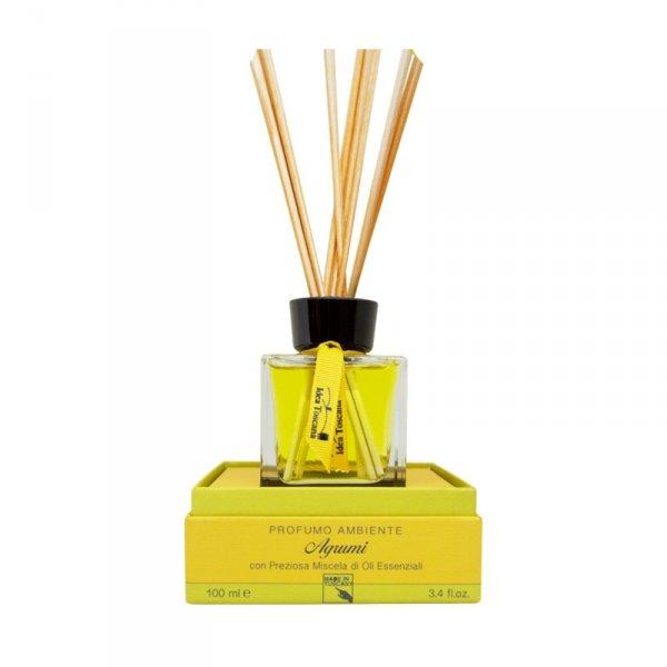 Zapach z patyczkami do domu 100ml CITRUS - Idea Toscana