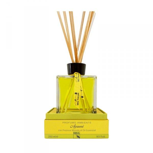 Zapach z patyczkami do domu 250ml CITRUS - Idea Toscana