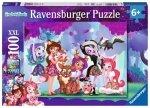 Ravensburger Puzzle 100 elementów - Enchantimals, Przyjaciele na zawsze