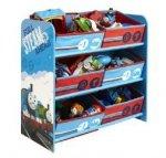 Półka z koszami na zabawki Tomek i przyjaciele