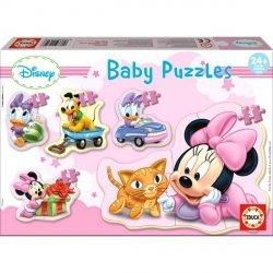 Puzzle Baby 20 elementów Mała Minnie