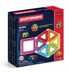 Magformers Układanka Magnetyczna 14 elementów