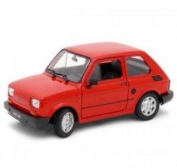 Welly Fiat 126P czerwony 1/21