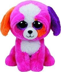 Meteor Maskotka Różowy pies TY Beanie Boos Precious  24 cm
