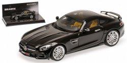 MINICHAMPS Brabus 600 IAA 2015 Auf Basis Mercedes-Benz AMG GT S 2015 (black)