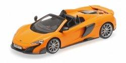 MINICHAMPS McLaren 675LT Spider (McLaren orange)