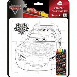Jiri Models Zestaw Kreatywnych Puzzli Cars 3