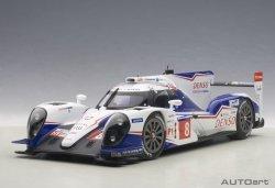 AUTOART Toyota TS040 Hybrid #8 Davidson/Buemi/Lapierr Le Mans 2014 WEC 2014 Manufacturers & Drivers Champion (composite model/2-