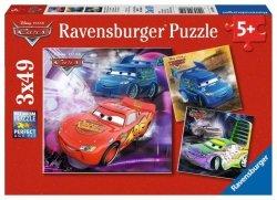 Ravensburger Puzzle 3x49 elementów Auta