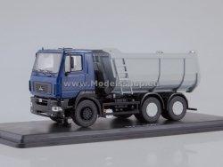 SSM MAZ-6501 U-shape Dumper Truck (dark blue/grey)