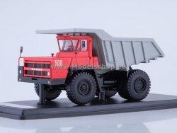 SSM BELAZ-7522 Quarry Dump Truck (red/grey)