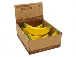 Banan drewniany display, 6 sztuk