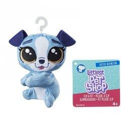 Hasbro Pluszowa przypinka Littlest Pet Shop Buster Boxington