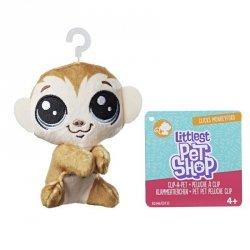 Hasbro Pluszowa przypinka Littlest Pet Shop Monkeyford
