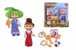 Simba Lalka Masza i Niedźwiedź Masza Kolorowe włosy, 3 rodzaje Asortyment