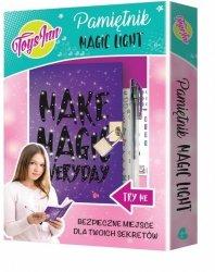 Świecący pamiętnik Magic Light Zestaw