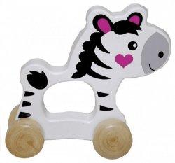 Brimarex Zwierzątko do pchania Zebra