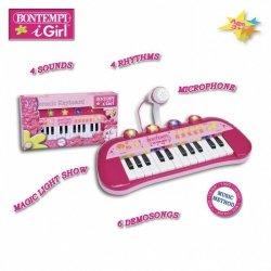Bontempi Organy elektroniczne z mikrofonem