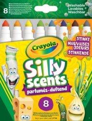 Crayola Markery brzydkie zapachy Silly Scents 8 sztuk