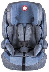 Lionelo Fotelik samochodowy Nico 9-36 kg niebieski