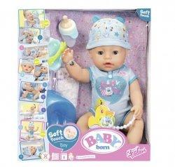 Zapf Lalka Baby Born interaktywna Soft Touch chłopiec