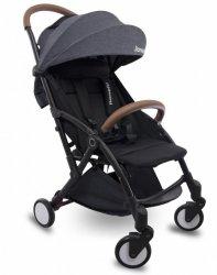 Wózek spacerowy Julie czarny/czarny składany