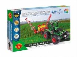 Alexander Zestaw konstrukcyjny Mały Konstruktor Maszyn Rolnych - Fred & Jacob
