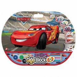 As Company Zestaw przyborów 5w1 Gigablock CARS