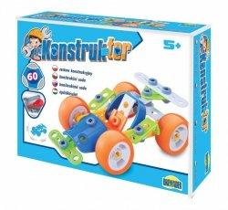 Dromader Zestaw konstrukcyjny Konstruktor - Pojazd, 60 elementów