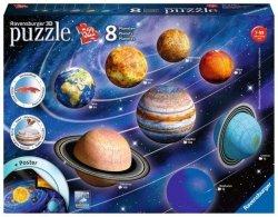 Puzzle 522 elementy Uklad Planet