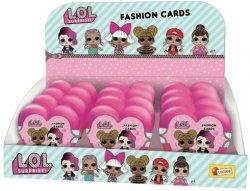 Lisciani Karty Lisciani L.O.L. Surprise Fasion Cards display 12 sztuk