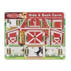 Układanka Drewniana tablica edukacyjna - Farma