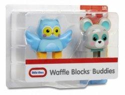 Figurki WAFFLE BLOCKS 2-pak Sowa i niedźwiedź