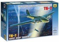 Zvezda Model plastikowy TB-7 Radziecki ciężki bombowiec WWII