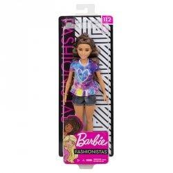 Mattel Lalka Barbie Fashionistas Modne Przyjaciółki Drobna Brunetka