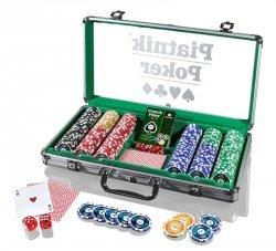 Piatnik Zestaw do pokera 300 żetonów