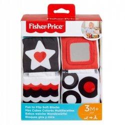 Fisher Price Klocki miękkie, sensoryczne