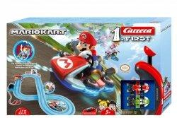 Carrera Tor wyścigowy First na baterie Nintendo Mario Kart 2,9m