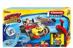 Carrera Tor wyścigowy First na baterie Miki i Raźni Rajdowcy 2,4m