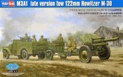 Hobby Boss Model plastikowy Holownik M3A1 122mm Howitzer